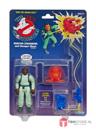 Ghostbusters Winston Zeddemore and Chomper Ghost