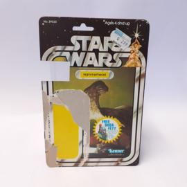Vintage Star Wars Cardback Hammerhead 20 back