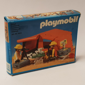 Playmobil 3413 - Safari Explorers And Tent