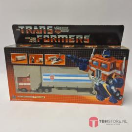 Transformers Optimus Prime met doos