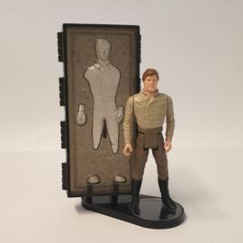 Figuur met Carbonite Block display stand 1.5 inch