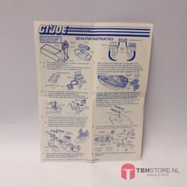 G.I. Joe Devilfish Instrukties (Nederlands)