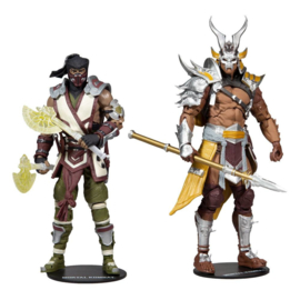 PRE-ORDER Mortal Kombat Action Figure 2-Pack Sub-Zero & Shao Khan