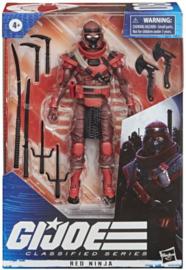 PRE-ORDER G.I. Joe Classified Series Red Ninja