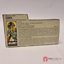G.I. Joe File Card Cobol