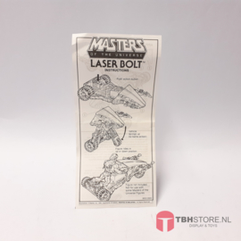 MOTU Masters of the Universe Laser Bolt Instructions / Instructies