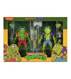 Teenage Mutant Ninja Turtles Action Figure 2-Pack Genghis & Rasputin Frog