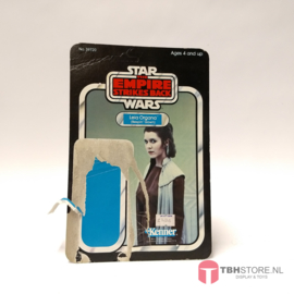 Vintage Star Wars Cardback Leia Bespin Gown ESB 31 back Palitoy