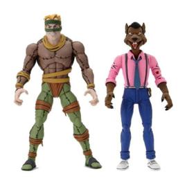 PRE-ORDER Teenage Mutant Ninja Turtles 2-Pack Rat King & Vernon