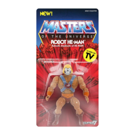 MOTU Masters of the Universe Vintage Collection Robot He-Man