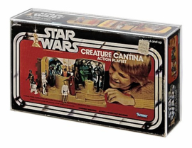 Star Wars Kenner Creature Cantina Acrylic Display Case