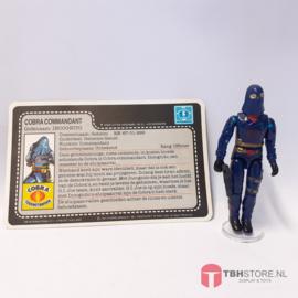 G.I. Joe Cobra Commander (v2) (Compleet)