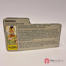 G.I. Joe File Card Splijter