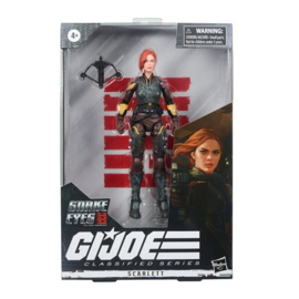 PRE-ORDER G.I. Joe Classified Series Snake Eyes: G.I. Joe Origins Scarlett