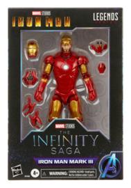 The Infinity Saga Marvel Legends Series Action Figure 2021 Iron Man Mark III (Iron Man)