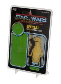 Star Wars Standard Cardback Display Case & Stand 2 pack