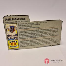 G.I. Joe File Card Sneeuwzoeker