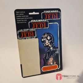 Vintage Star Wars Cardback Death Star Droid (DSD) Tri-Logo