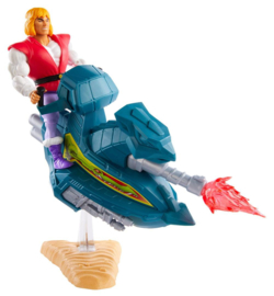 PRE-ORDER MOTU Masters of the Universe Origins 2020 Prince Adam with Sky Sled