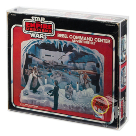 PRE-ORDER Star Wars Kenner ESB Rebel Command Center & Hoth Ice Planet Display Case