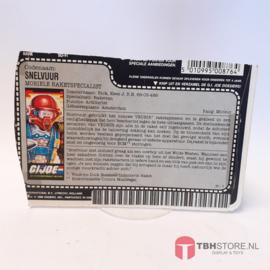 G.I. Joe File Card Snelvuur