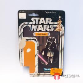 Vintage Star Wars Cardback Darth Vader 12 back