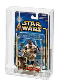 PRE-ORDER Star Wars Carded Action Figure Display Case (SUPER Deep Bubble Depth)