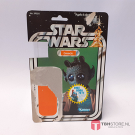 Vintage Star Wars Cardback Greedo 20 back