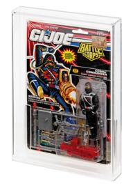 G.I. Joe (USA) Tall Card Display Case