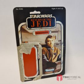 Vintage Star Wars Cardback General Madine ROTJ