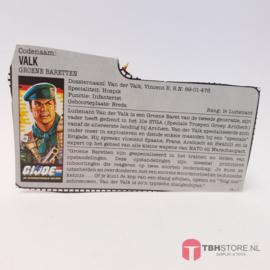 G.I. Joe File Card Valk