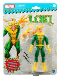 PRE-ORDER Marvel Legends Retro Collection Action Figure 2022 Loki 15cm