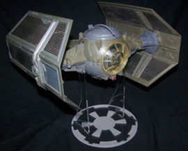 Vintage Darth Vader Tie Fighter Ship Stand