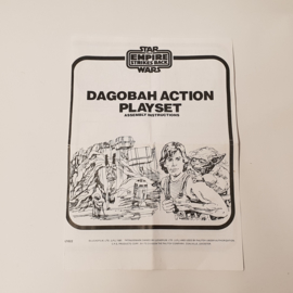 Dagobah Playset Instructies