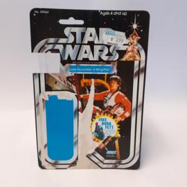Vintage Star Wars Cardback Luke Skywalker X-Wing Pilot 20 back