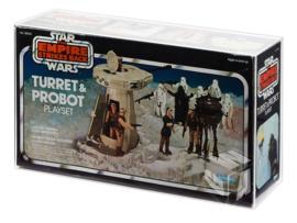 PRE-ORDER Star Wars ESB Kenner & Palitoy Turret & Probot Acrylic Display Case