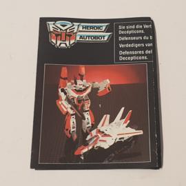 Transformers Info Boekje