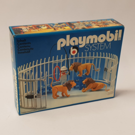 Playmobil 3517 - Lions, Cage and Trainer