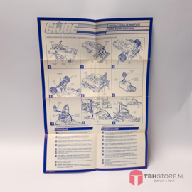 G.I. Joe Mustang Instructies