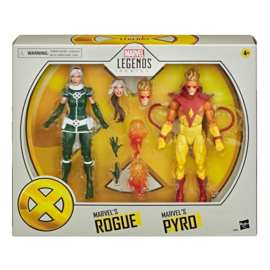 PRE-ORDER X-Men Marvel Legends 2-Pack Marvel's Rogue & Marvel's Pyro