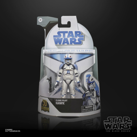 Star Wars Black Series Clone Wars Exclusive Clone Pilot Hawk