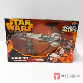 Star Wars Revenge of the Sith Barc Speeder with Barc Trooper