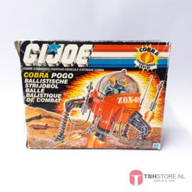 G.I. Joe Cobra Pogo met doos