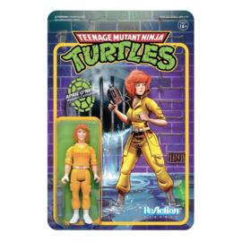 TMNT Teenage Mutant Ninja Turtles ReAction April ONeil