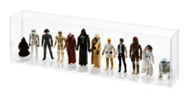 PRE-ORDER Loose Action Figure (first 12 stand) Display Case