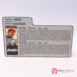 G.I. Joe File Card Arend