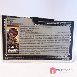 G.I. Joe File Card Gymp
