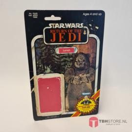 Vintage Star Wars Cardback Lumat ROTJ
