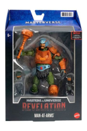 PRE-ORDER MOTU Masters of the Universe: Revelation Masterverse 2021 Man-At-Arms