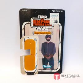 Vintage Star Wars Cardback Bespin Security Guard 32 back